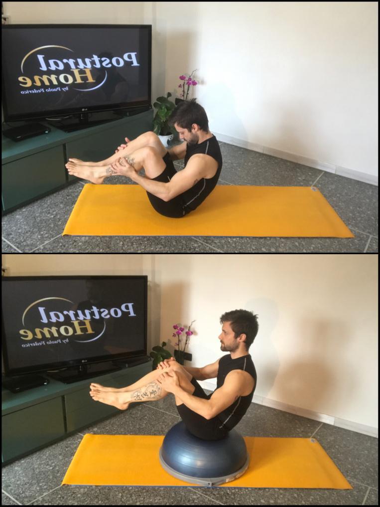 Spondilolistesi esercizi propriocettivi