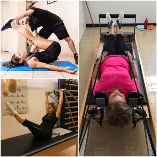 ginnastica posturale a corpo libero o con attrezzi