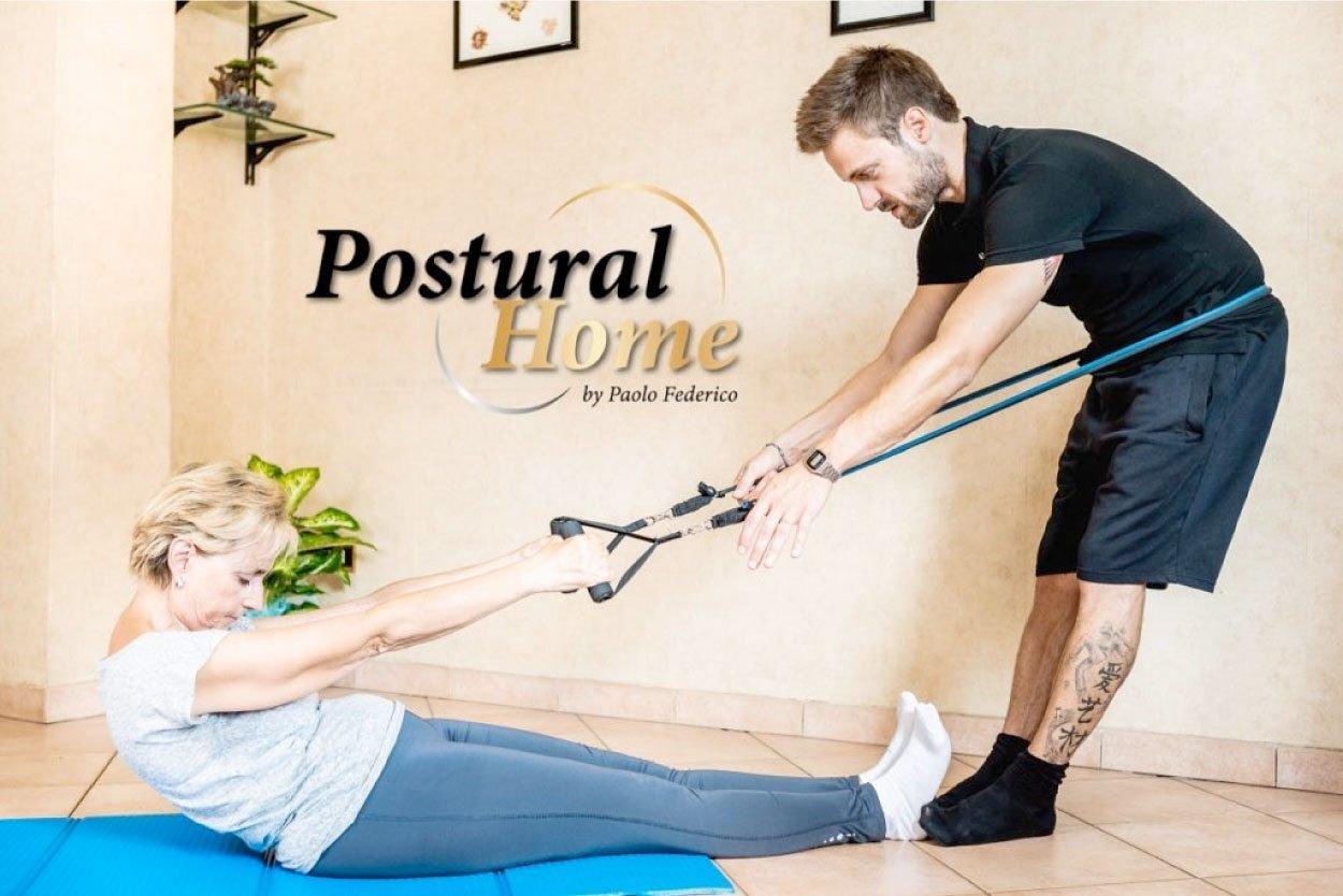ginnastica posturale a casa