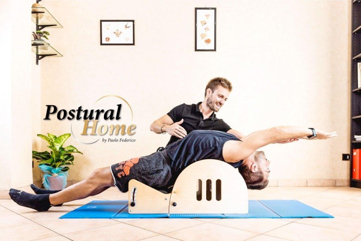 ginnastica posturale online